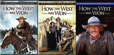 How the West Was Won TV Series Complete Season 1-3 (1 2 3) NEW DVD BUNDLE SET | eBay