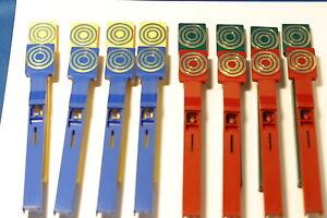 Set De 16 Cibles Pour Flipper Gottlieb Count-down