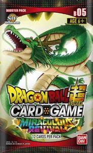 Dragon-Bola-Super-Juego-de-Cartas-B05-Milagroso-Revival-Mejoras-X-24