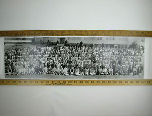El-Cerrito-High-School-Class-of-1966-Panoramic-Photograph-27-034-by-8-034-VTG-HS-Photo