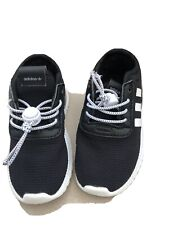 Kids Boys Fabric Santo Trainers Infant Runners Elasticated Laces New