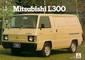 mitsubishi colt l300 van 1980 82 uk market sales brochure ebay rh ebay com Mitsubishi L300 Versa Van Mitsubishi L300 Versa Van