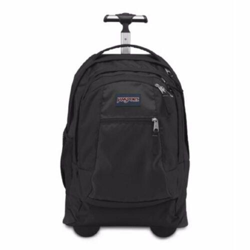 JanSport Driver 8 Core Series Wheeled Backpack Black//Black