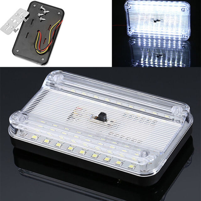 12V 36 LED Car Vehicle Interior Dome Roof Ceiling Reading Trunk Light Lamp FT