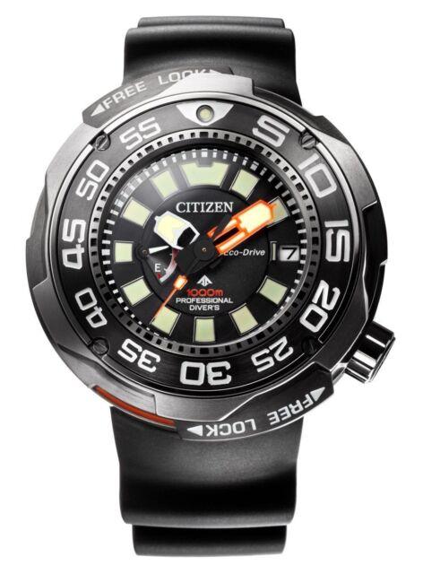 Citizen PROMASTER Eco Drive BN7020-17E 1000m Pro Diver Super Titanium Solar