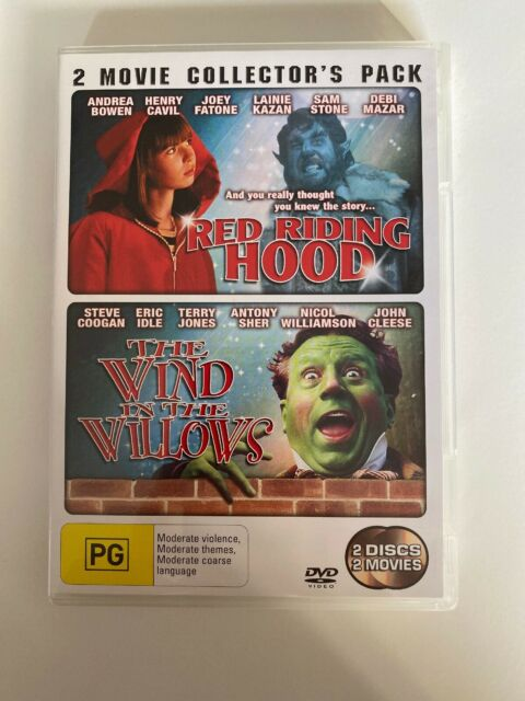 Wind In The Willows + Red Riding Hood (2 Disc DVD) Terry Jones Like New!