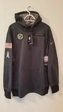 de6c494e9f3 Nike 2017 NFL Salute to Service Pittsburgh Steelers Pullover Hoodie ...