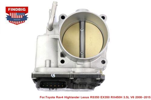OEM Throttle Body for Toyota Rav4 Highlander Lexus RS350 EX350 RX450H 3.5L V6