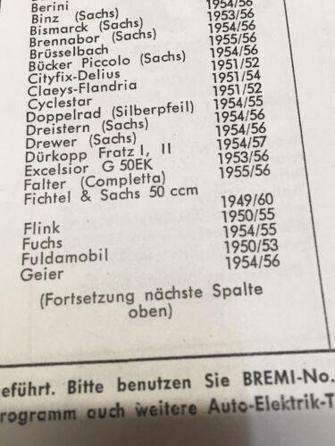 1 contatto di accensione Fulda mobile.