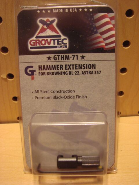 NEW GrovTec US GTHM71 Hammer Extension for Browning BL-22 Astra 357 Black