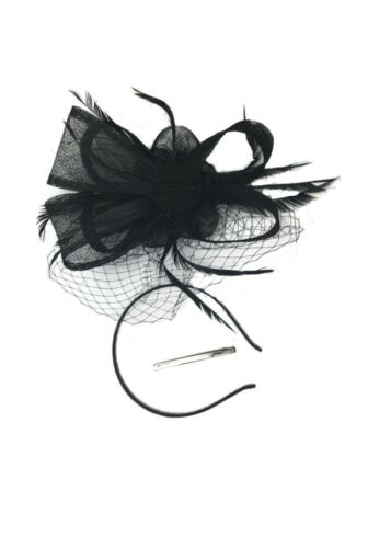 Wedding Hat Fascinator Races Royal Ascot Ladies Day Occasions With Headband Clip
