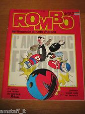 RIVISTA ROMBO 1982/46=CISITALIA 202 FERRARI=PIRELLI P4=DOSSIER F.1=TOGNANA=