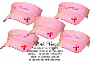 Lady-Pink-Ribbon-Breast-Cancer-Awareness-Women-Rockpoint-Custom-Embroidered-Cute