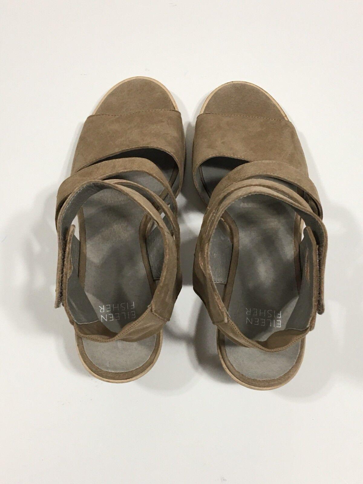 Eileen Fisher Vessey Strappy Strappy Vessey Sandal Size 8.5 (Retail  245) da059e