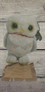 "Harry Potter Owl Messaging Plush 4"" Secret Note Mattel Stuffed Animal VTG Collec"