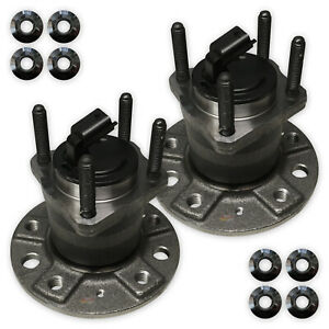 For-Vauxhall-Astra-H-2-0-VXR-MK5-2004-gt-2013-2x-Rear-Hub-Wheel-Bearing-Kit-Pair