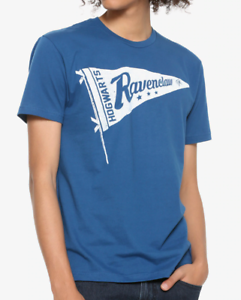 Harry-Potter-Ravenclaw-Pennant-T-Shirt-Neuf-sous-licence-amp-Officiel