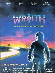 The-WRAITH-Charlie-SHEEN-Randy-QUAID-Sherilyn-FENN-ACTION-DVD-NEW-SEALED-Reg-4