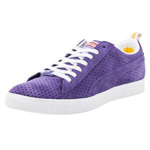 on sale b68fc 000c3 Details about PUMA X UNDEFEATED CLYDE GAMETIME LA LAKERS VIOLET WHITE TEAM  YELLOW 354271 03