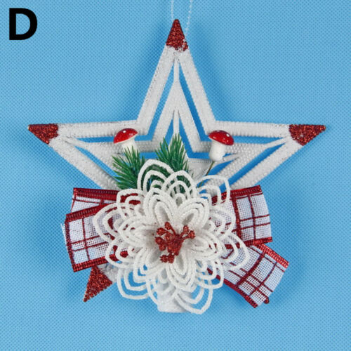 Decoration Gifts Xmas Tree Hanging Christmas Wreath Garland Hanging Ornament