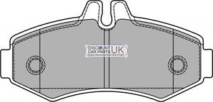PD6-FRONT-Brake-Pads-To-Suit-VITO-108-CDI-2-2-638-094-DIESEL