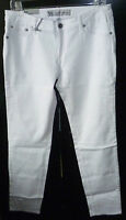 Womens Bullhead White Denim Super Skinny Stretch Jeans 8029