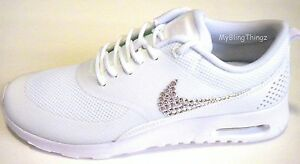 Image is loading SALE-Bling-Nike-Air-Max-Thea-w-Swarovski-