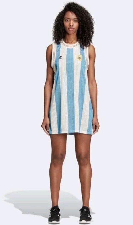 Adidas original Woherrar silverina Tank Dress L