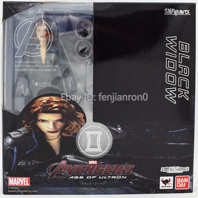 Age Of Ultron Black Widow SHF S.H.Figuarts Action Figure China Ver NIB 09999998