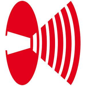 2 Sticker 25cm Sticker Decorative Film Bong Speaker Symbol Logo Depeche Mode