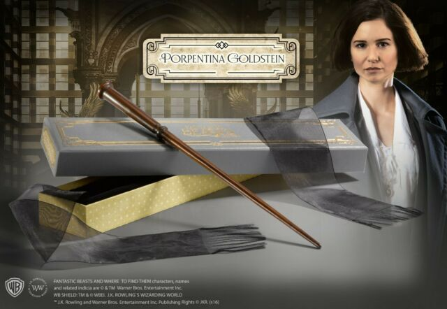 NOBLE COLLECTION FANTASTIC BEASTS PORPENTINA GOLDSTEIN WAND