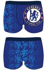 Socken Unterwäsche Shorts Boxershorts Neu Chelsea FC Herren Boxershorts