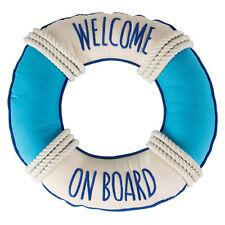 WELCOME ON BOARD Sailor Matrosen Cushion / KISSEN Rockabilly