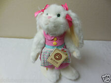 "NWT! Boyds Bears 13"" ""HARRIETTE HOPPELBUNS"" Bunny Rabbit Posable Plush RETIRED"