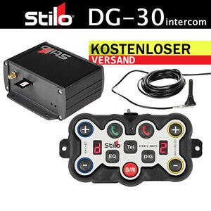 STILO-DG-30-Intercom-12V-GSM-Digitale-Rauschunterdrueckung-Gegensprechanlage