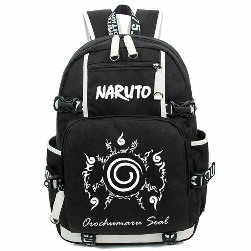 Large Capacity Luminous Anime Naruto Pattern Backpack School Bag Cosplay Z-HYSB