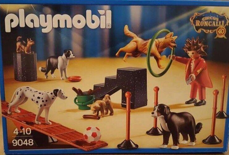 Playmobil Roncalli Hundedressur 9048 Neu & OVP 40 Jahre Roncalli Zirkus Circus