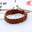 Adjustable-Men-Genuine-Leather-Bracelet-Braided-Wristband-Charm-Bangle-Handmade miniatura 8