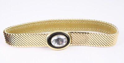 Rispettoso Dg97 Capannone Cintura In Vita Cintura Metallo Oro Elastici 65 - 90 Cm Vintage-mostra Il Titolo Originale