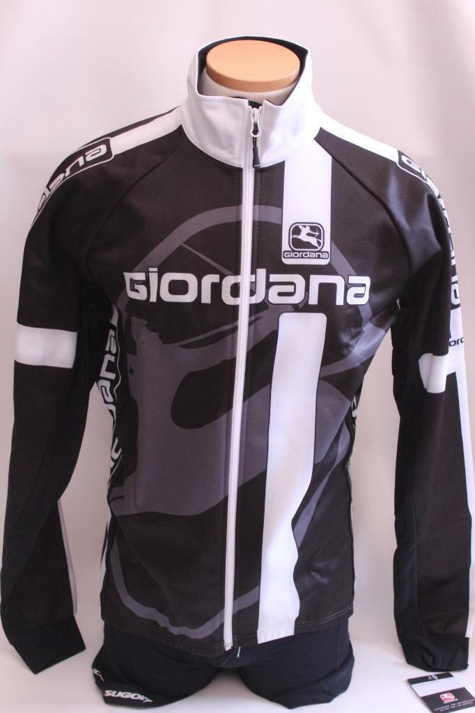 Nueva chaqueta de invierno Giordana para hombre  Corsa negro XXS Ciclismo Bici Bicicleta de Italia térmica 2XS  artículos novedosos