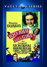 100 Men and a Girl 1937 (DVD) Deanna Durbin, Adolphe Menjou, Alice Brady - New!