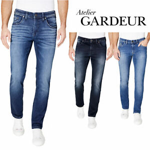 Atelier-GARDEUR-Jeans-BILL-8-Modern-Fit-Herren-Hose-Slim-Leg-Denim-NEU
