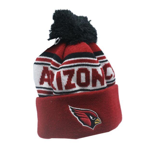 015f84b0072 Arizona Cardinals NFL Kids Boys (4-7) OSFM Winter Cuffed Pom Knit Beanie