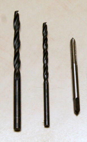 USA Shipping M4 Tap and 3.3mm /& 4.4mm Drills set