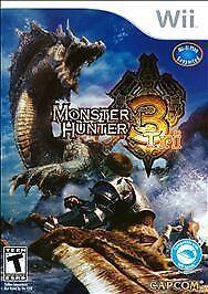 1 of 1 - Monster Hunter Tri (Nintendo Wii, 2010)