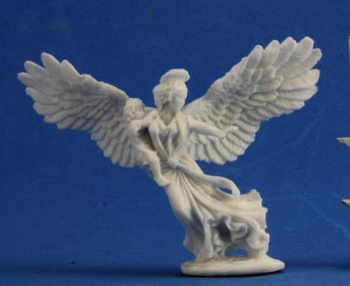 Angel of Protection Bones Miniature by Reaper Miniatures RPR 77365