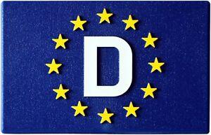 Euro-Deutschland-D-Europa-Emblem-Schild-Relief-3D-Flagge-HR-19151-selbstklebend