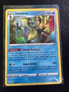 Sword /& Shield 058//202 Mint Non-Holo Rare Inteleon Near Mint