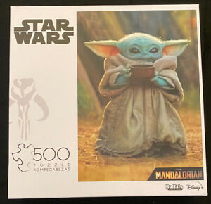 Disney Star Wars The Mandalorian THE CHILD 500 Piece Jigsaw Puzzle Baby Yoda NEW