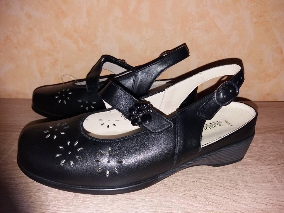 Bosque alfil Sling - salón salón salón bailarina hyazintha nuevo talla 5 5,5 M negro & cuero  comprar nuevo barato